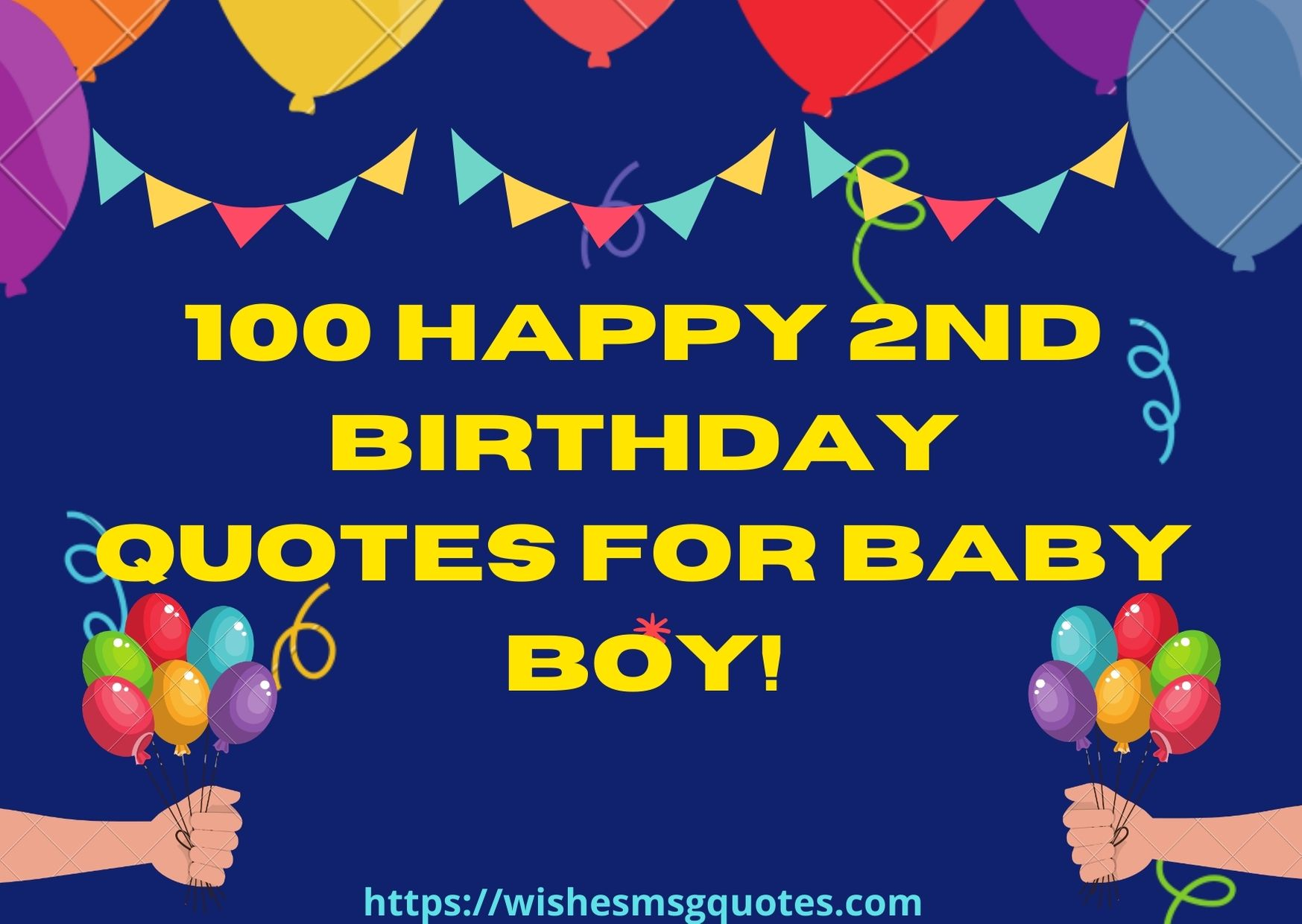 100 Happy 2nd Birthday Quotes For Baby Boy