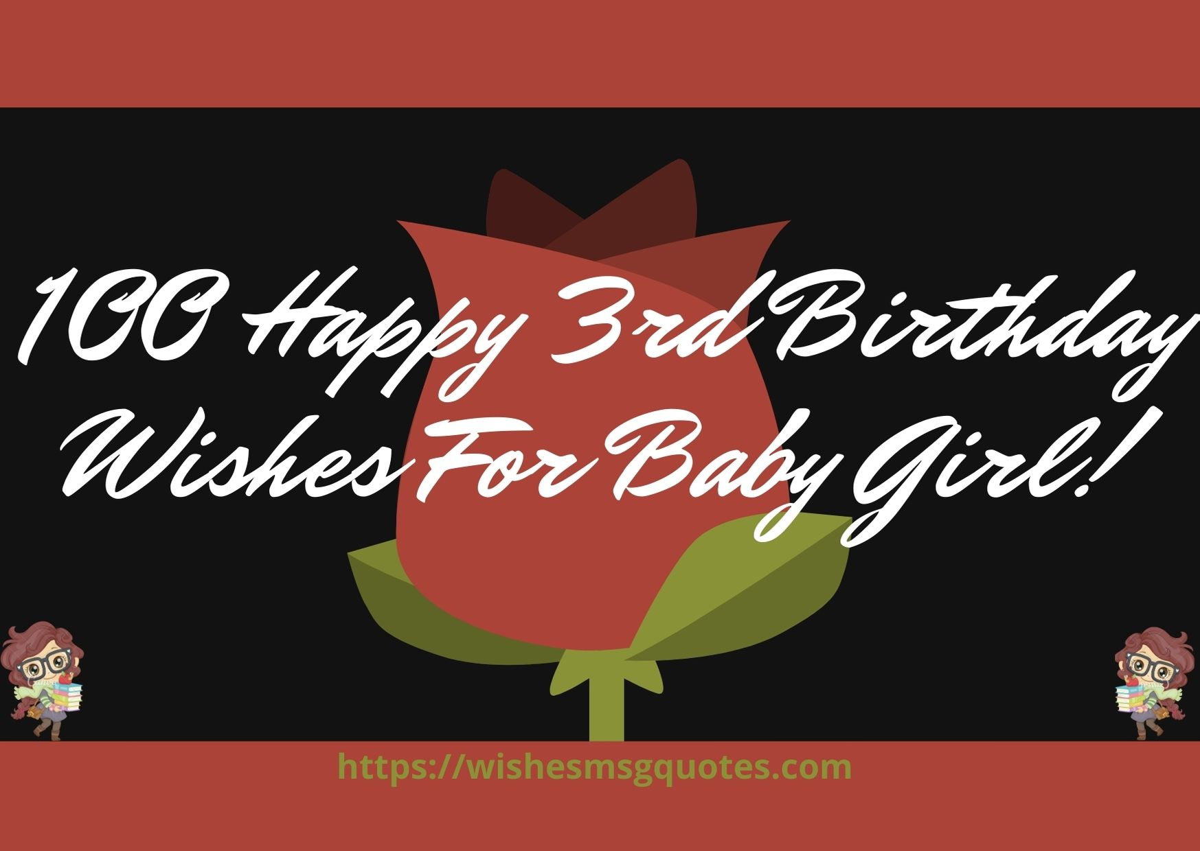 100 Happy 3rd Birthday Wishes For Baby Girl