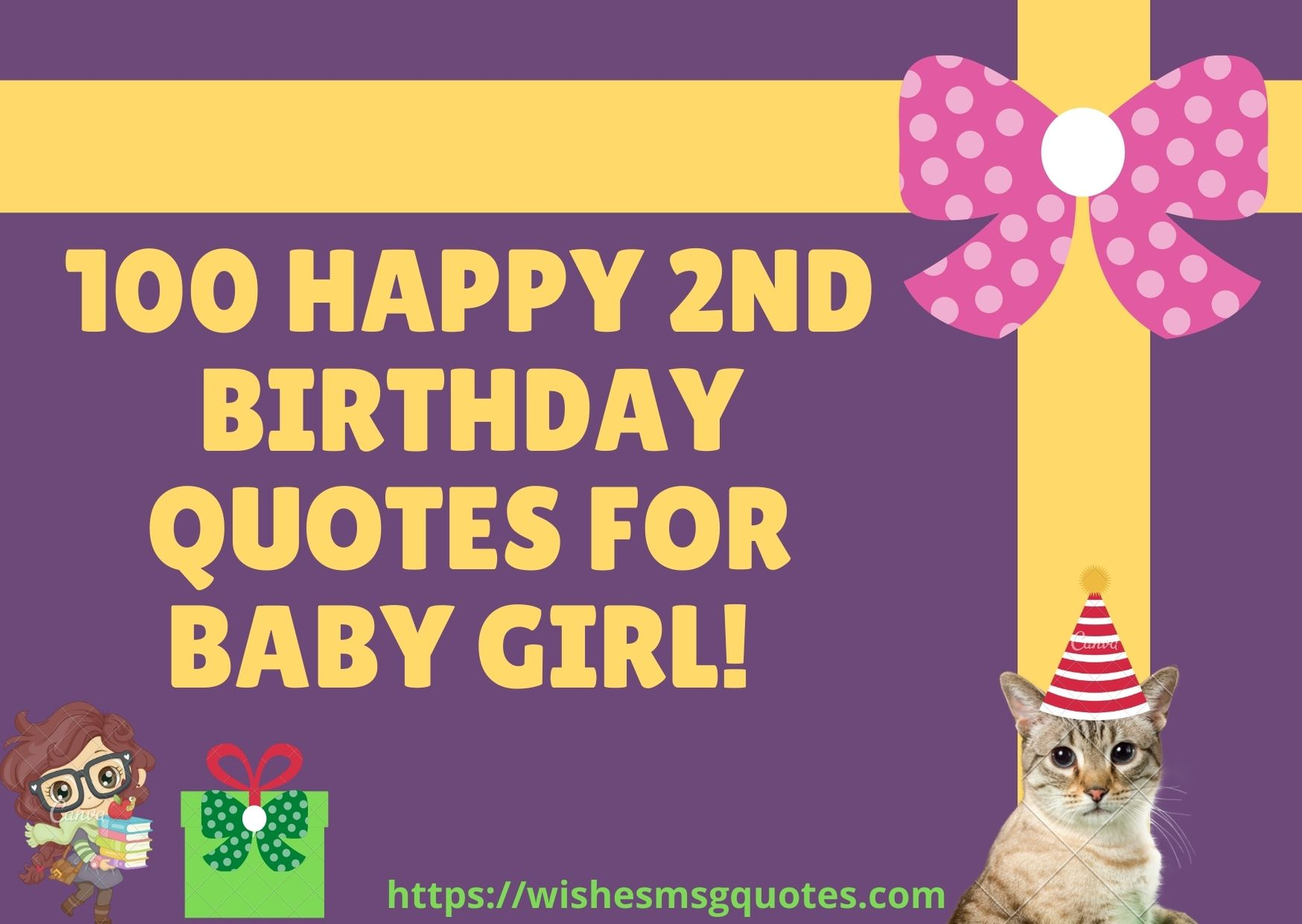 100 Happy 2nd Birthday Quotes For Baby Girl